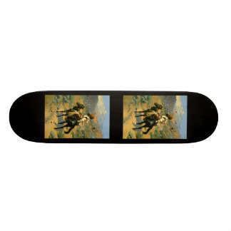 Frederic Remington's The Indian Trapper (1889) Skateboards