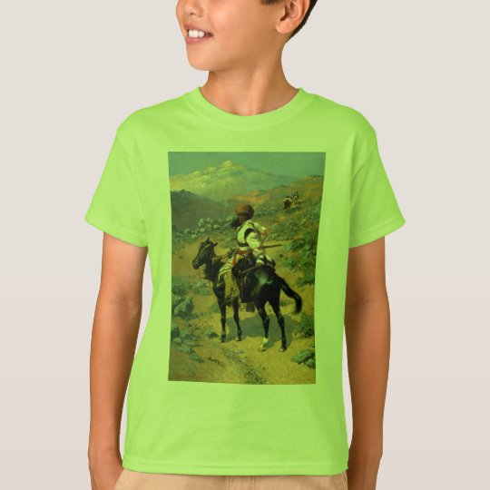Frederic Remington's The Indian Trapper (1889) T-Shirt