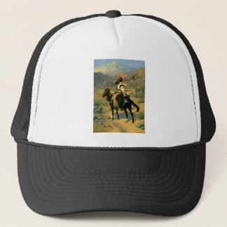 Frederic Remington's The Indian Trapper (1889) Trucker Hat