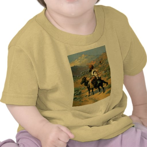 Frederic Remington's The Indian Trapper (1889) Tshirt