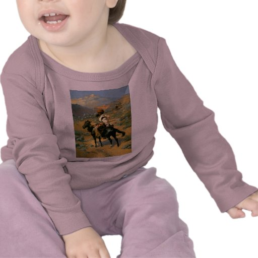 Frederic Remington's The Indian Trapper (1889) Tshirts