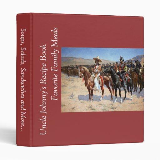 Frederic Remington's The Mexican Major (1889) Vinyl Binder
