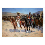 Frederic Remington's The Mexican Major (1889) Cards