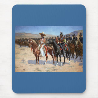 Frederic Remington's The Mexican Major (1889) Mouse Pad