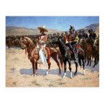 Frederic Remington's The Mexican Major (1889) Post Card