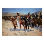 Frederic Remington's The Mexican Major (1889) Posters