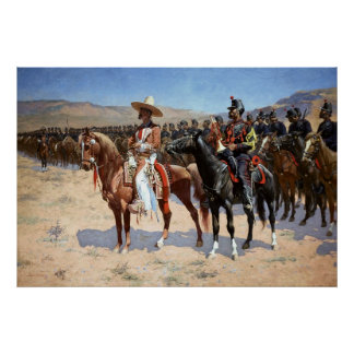 Frederic Remington's The Mexican Major (1889) Poster