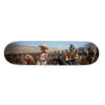 Frederic Remington's The Mexican Major (1889) Skateboard Deck