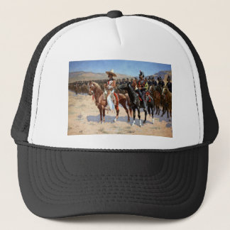 Frederic Remington's The Mexican Major (1889) Trucker Hat