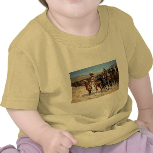Frederic Remington's The Mexican Major (1889) T-shirts