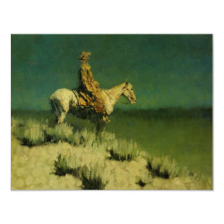 Frederic Remington's The Night Herder (circa 1908) Card
