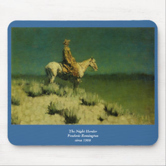 Frederic Remington's The Night Herder (circa 1908) Mouse Pad