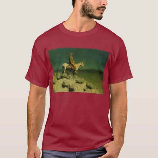 Frederic Remington's The Night Herder (circa 1908) T-Shirt