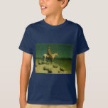 Frederic Remington's The Night Herder (circa 1908) T-Shirt