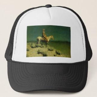 Frederic Remington's The Night Herder (circa 1908) Trucker Hat