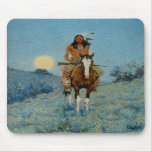 Frederic Remington's The Outlier 1909 Mouse Pads