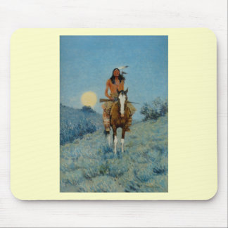 Frederic Remington's The Outlier 1909 Mouse Pad