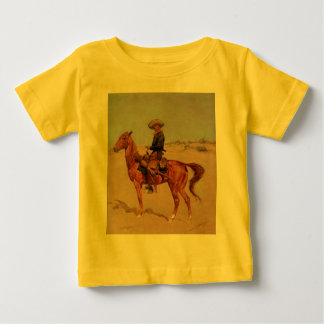 Frederic Remington's The Puncher (1895) Baby T-Shirt