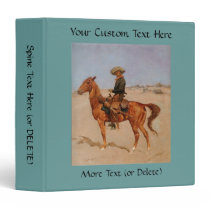 Frederic Remington's The Puncher (1895) Binder