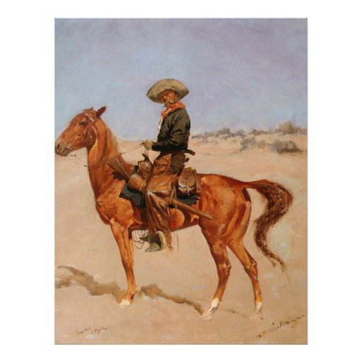 Frederic Remington's The Puncher (1895) Flyer