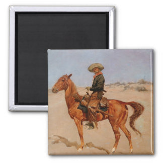 Frederic Remington's The Puncher (1895) Magnet