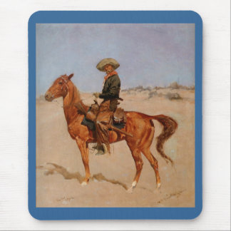 Frederic Remington's The Puncher (1895) Mouse Pad