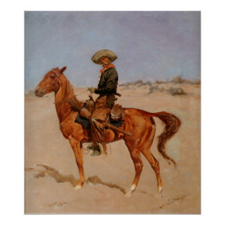 Frederic Remington's The Puncher (1895) Poster
