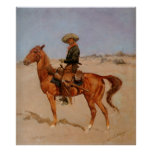 Frederic Remington's The Puncher (1895) Print