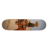 Frederic Remington's The Puncher (1895) Skateboard Deck