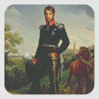 Frederic William III  King of Prussia, 1814 Square Sticker