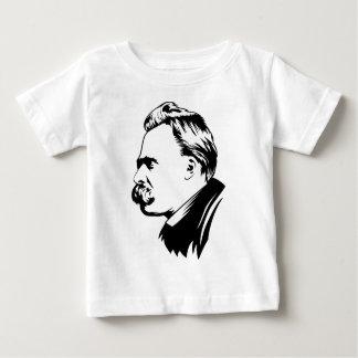 Frederich Nietzsche Portrait Baby T-Shirt