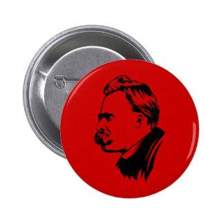 Frederich Nietzsche Portrait Pin