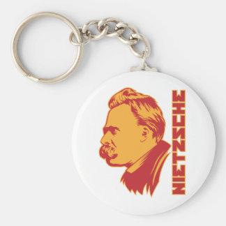 Frederich Nietzsche Portrait Keychain