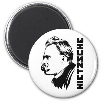 Frederich Nietzsche Portrait Magnet