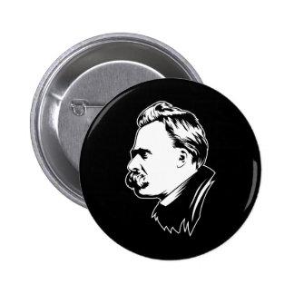 Frederich Nietzsche Portrait Mousepad Pinback Buttons