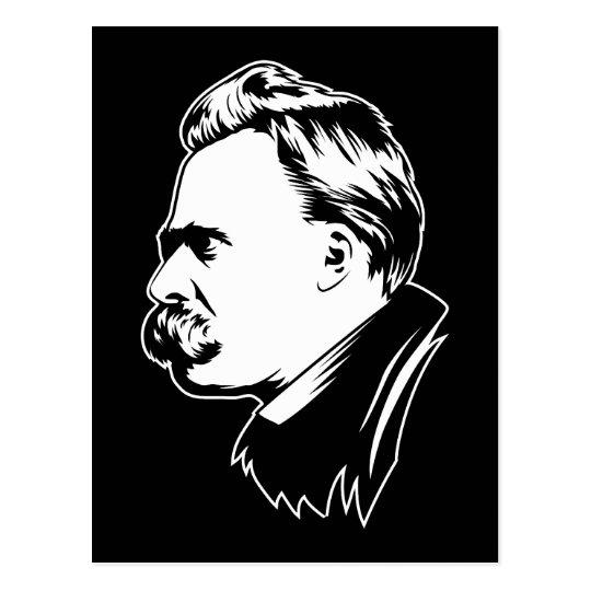 Frederich Nietzsche Portrait Mousepad Postcard