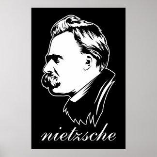 Frederich Nietzsche Portrait Mousepad Print