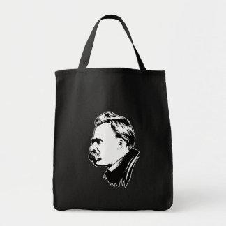 Frederich Nietzsche Portrait Mousepad Tote Bag