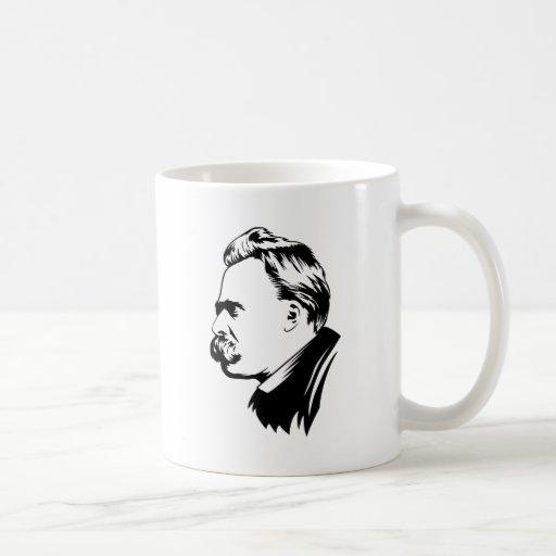 Frederich Nietzsche Portrait Classic White Coffee Mug
