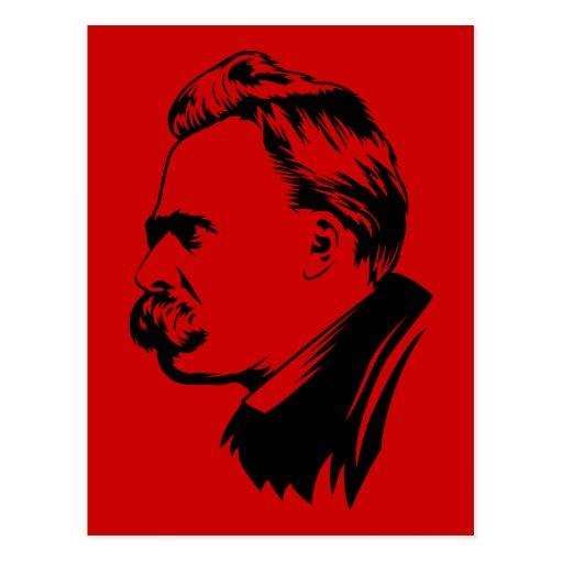 Frederich Nietzsche Portrait Post Card