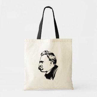 Frederich Nietzsche Portrait Tote Bag