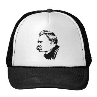 Frederich Nietzsche Portrait Trucker Hat