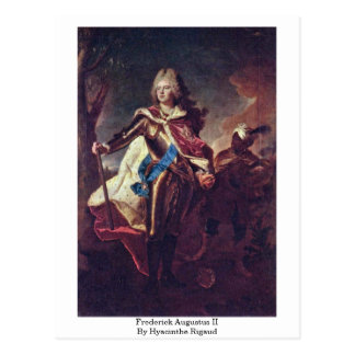 Frederick Augustus Ii By Hyacinthe Rigaud Postcards