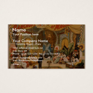 Frederick Bancroft Business Card