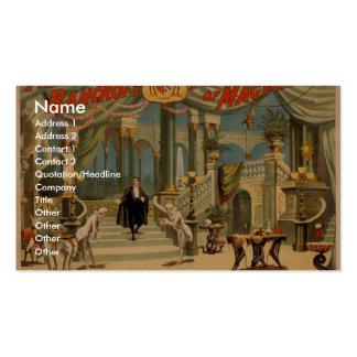Frederick Bancroft, 'el Palace del mago Plantillas De Tarjetas De Visita
