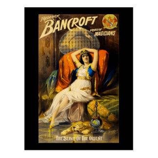 Frederick Bancroft prince of magicians Postcard