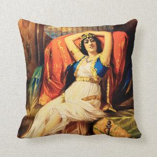 Frederick Bancroft, Prince of Magicians Throw Pillow