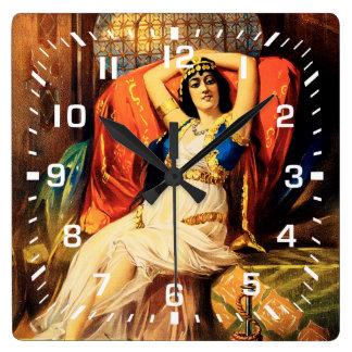 Frederick Bancroft, príncipe de magos Reloj Cuadrado