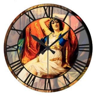 Frederick Bancroft, príncipe de magos Reloj Redondo Grande