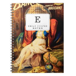 Frederick Bancroft, príncipe de magos Spiral Notebooks